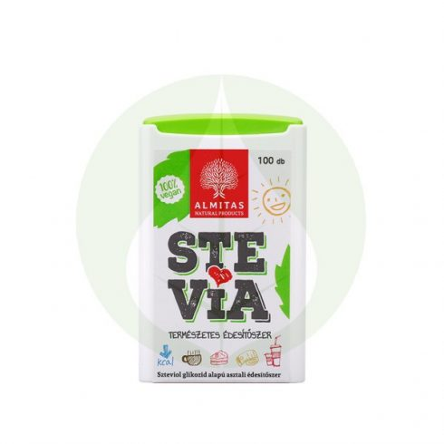 Stevia tabletta - 300db - Almitas
