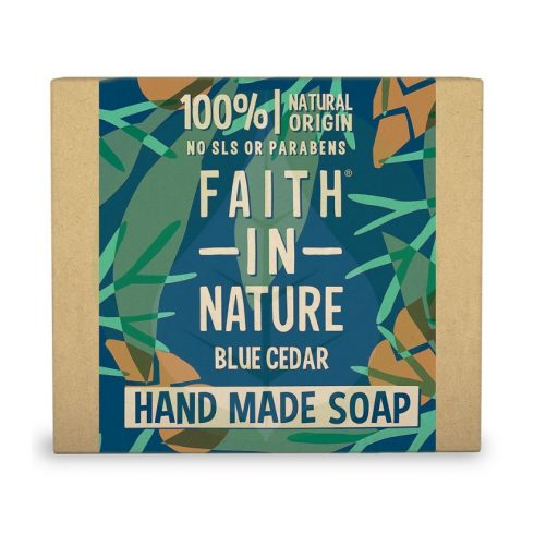 Kék Cédrus szappan - 100g - Faith in Nature