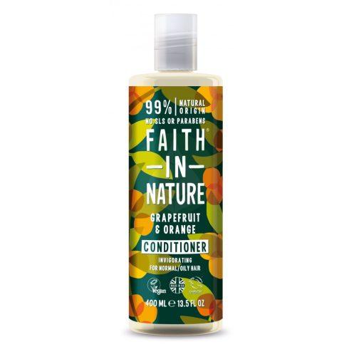 Grapefruit és Narancs kondícionáló és balzsam - 400ml - Faith In Nature