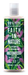 Levendula és geránium kondicionáló és balzsam - 250ml - Faith in Nature