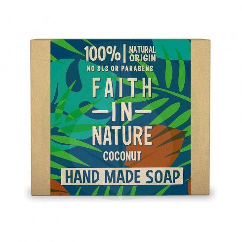 Kókusz szappan - 100g - Faith in nature