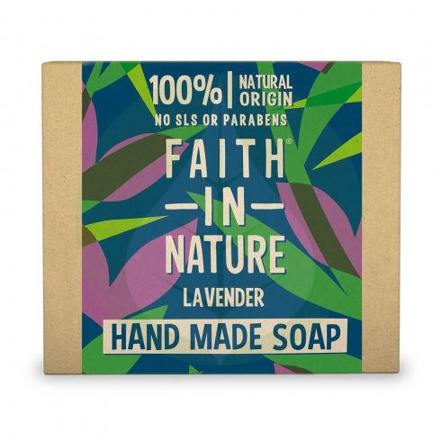 Bio Levendula szappan - 100g - Faith in Nature