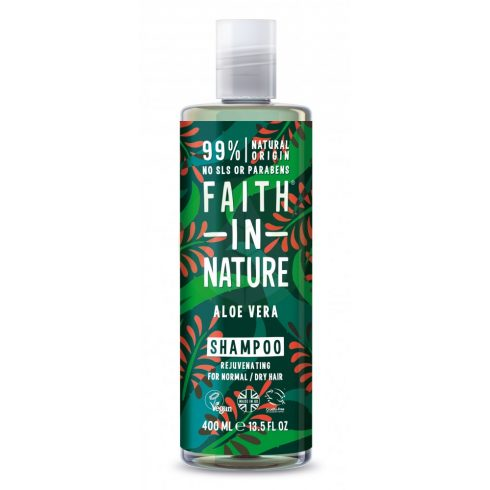 Bio Aloe Vera sampon - 400ml - Faith in Nature