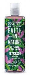 Levendula és Geránium sampon - 250ml - Faith in Nature