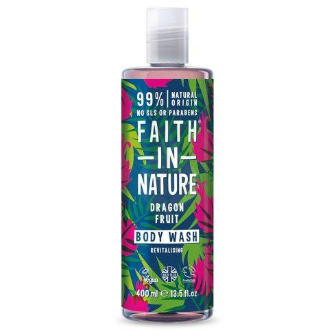 Sárkánygyümölcs tusfürdő - 400ml - Faith in Nature