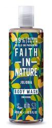 Jojoba tusfürdő - 400ml - Faith in Nature