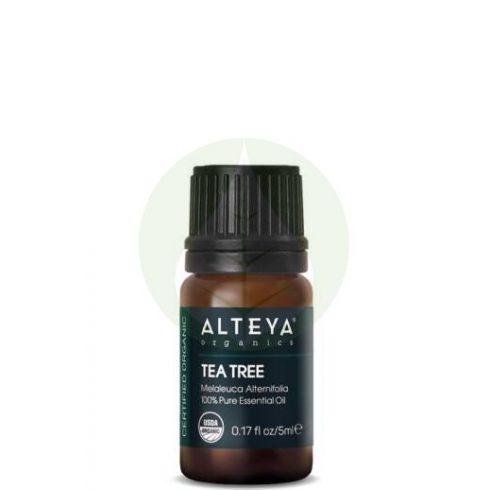 Teafa - Melaleuca alternifolia illóolaj Bio - 5ml - Alteya Organics