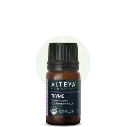 Kakukkfű - Thymus vulgaris ct6 thymol illóolaj Bio - 5ml - Alteya Organics