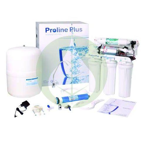 Háztartási fordított ozmózis víztisztító - BPA-mentes - RO 5 - Proline - nyomásfokozóval
