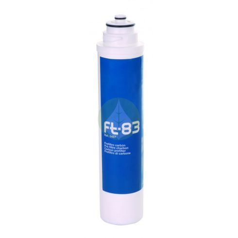 Szűrő - FT-83-2 GAC szén - Puricom - Ionfilter FT-Line3 víztisztító készülékekhez