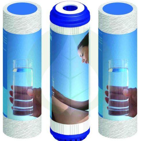 szűrőkészlet - 3 darabos - RO (Fordított ozmózis) víztisztító készülékekhez