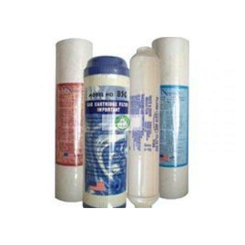 szűrőkészlet - 4 darabos - RO (Fordított ozmózis) víztisztító készülékekhez